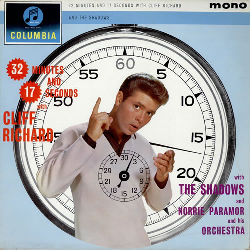 Cliff Richard With The Shadows - 32 Minutes And 17 Seconds With Cliff Richard