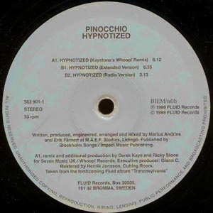 Pinocchio - Hypnotized