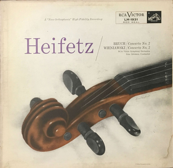 Heifetz, Bruch, Wieniawski - Violin Concertos