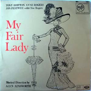 Tony Britton / Anne Rogers / Jon Pertwee - My Fair Lady