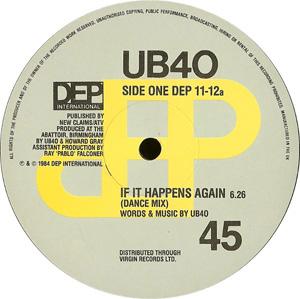 UB40 - If It Happens Again (Dance Mix)