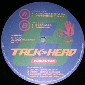 TACKHEAD - VIDEOHEAD