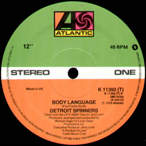 DETROIT SPINNERS - BODY LANGUAGE
