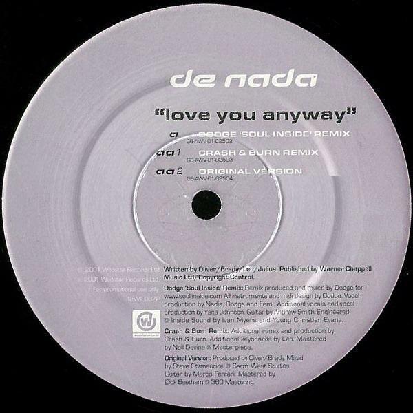 DE NADA - LOVE YOU ANYWAY