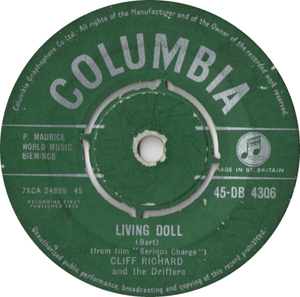 Cliff Richard and Drifters, The - Living Doll