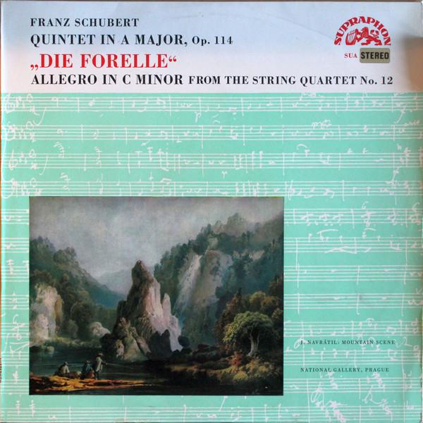 Schubert - Smetana Quartet - Quintet In A Major