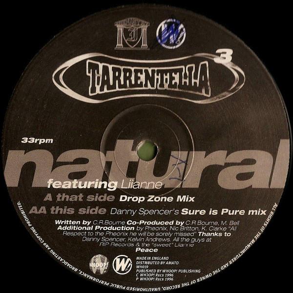 Tarrentella Featuring Liianne - Natural