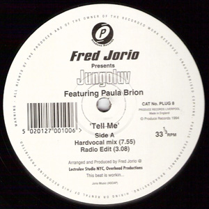 Fred Jorio Jungoluv Featuring  Paula Brion - Tell Me
