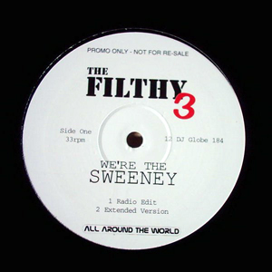 FILTHY 3, THE - We're The Sweeney - Maxi x 1