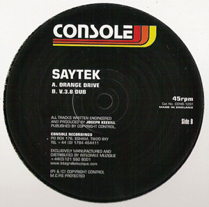 Saytek - Orange Drive / V3.8 Dub