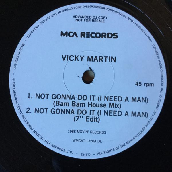 Vicky Martin - Not Gonna Do It (I Need A Man)