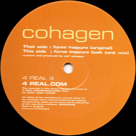 Cohagen - Force Majeure