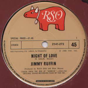 Jimmy Ruffin - Night Of Love