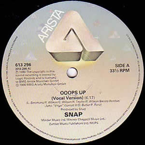 SNAP! - OOOPS UP - 12 inch x 1