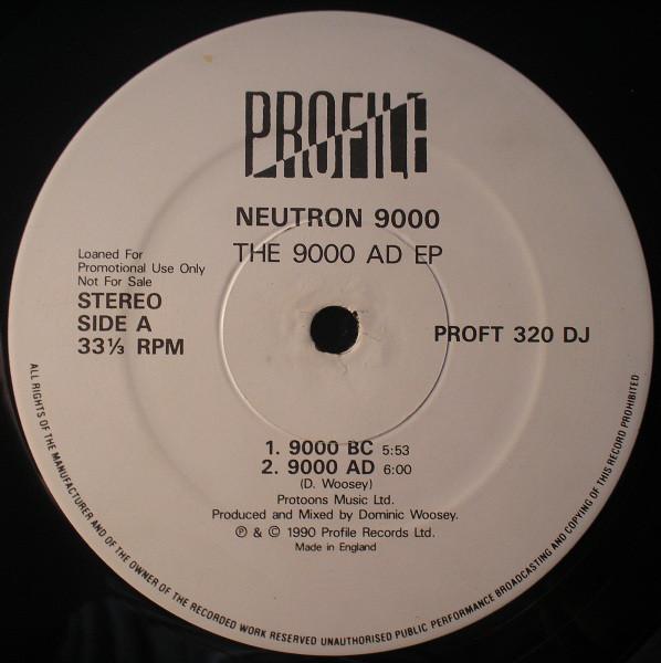 NEUTRON 9000 - THE 9000 AD EP