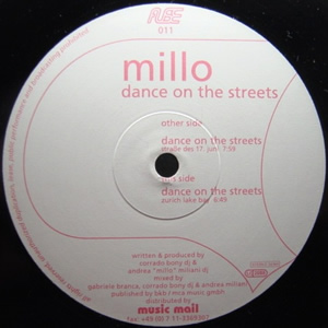 DJ MILLO - DANCE ON THE STREETS