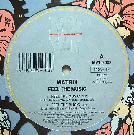 MATRIX - FEEL THE MUSIC