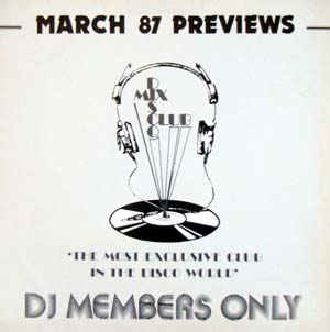 Various - DMC March 87 Previews