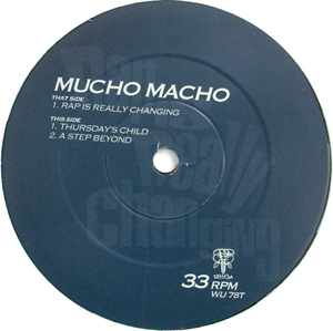 Mucho Macho - Rap Is Really Changing