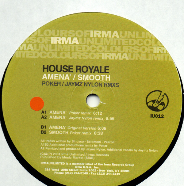 House Royale - Amena / Smooth