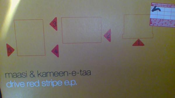 Maasi & Kameen-E-Taa - Drive Red Stripe E.P.