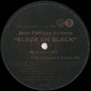 Jean-Phillippe Aviance - Black On Black