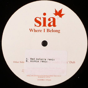 Sia - Where I Belong