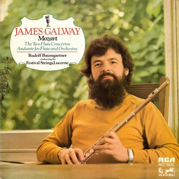 James Galway - Mozort - The Two Flute Concertos