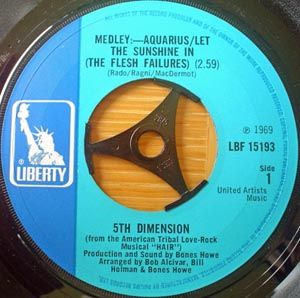5th Dimension - Aquarius/Let The Sunshine In (The Flesh Failures)