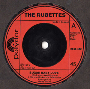 Rubettes, The - Sugar Baby Love