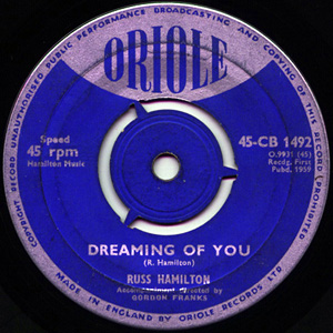 Russ Hamilton - The Reprieve Of Tom Dooley / Dreaming Of You