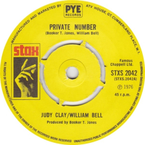 Judy Clay & William Bell - Private Number