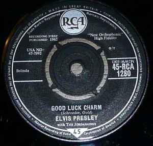 Elvis - Good Luck Charm