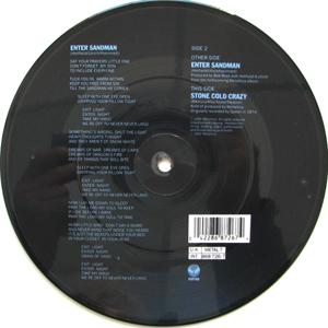 Metallica - Enter Sandman (pic Disc)