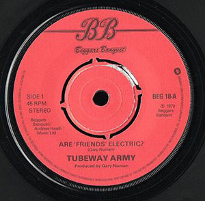 TUBEWAY ARMY - Are 'Friends' Electric? - 7inch x 1