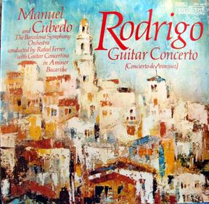 Joaquin Rodrigo/Salvador Bacarisse - Concierto De Aranjuez, Guitar Concertino