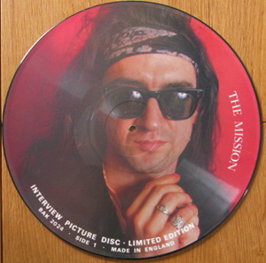 Mission - Interview (picture Disc)