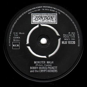 Bobby (Boris) Pickett & The Crypt-Kickers - Monster Mash