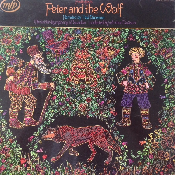 Prokofiev Narrated By Paul Daneman - Peter And The Wolf