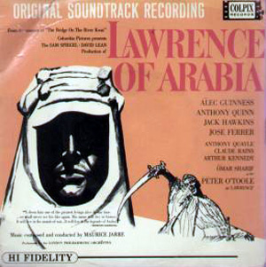 Jarre, Maurice - London Philharmonic Orchestra - Lawrence Of Arabia Orig. Soundtrack Alec Guiness