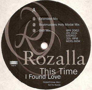 ROZALLA - This Time I Found Love