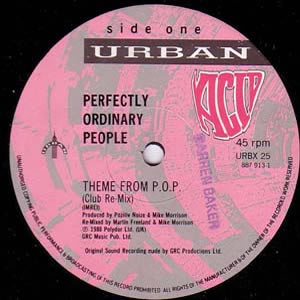 PERFECTLY ORDINARY PEOPLE - THEME FROM P.O.P.