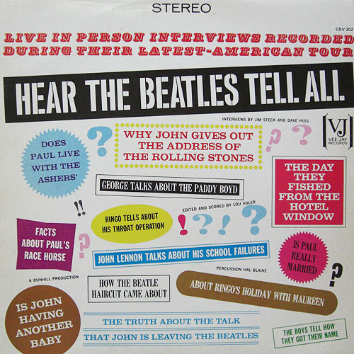 Beatles, The - Hear The Beatles Tell All