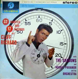 Cliff Richard With The Shadows - 32 Minutes And 17 Seconds (Green Label)
