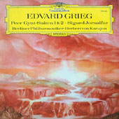 Greig-Berliner Philharmoniker Herbert von Karajan - Peer Gynt-Suiten 1 & 2  Sigurd Jorsalfar