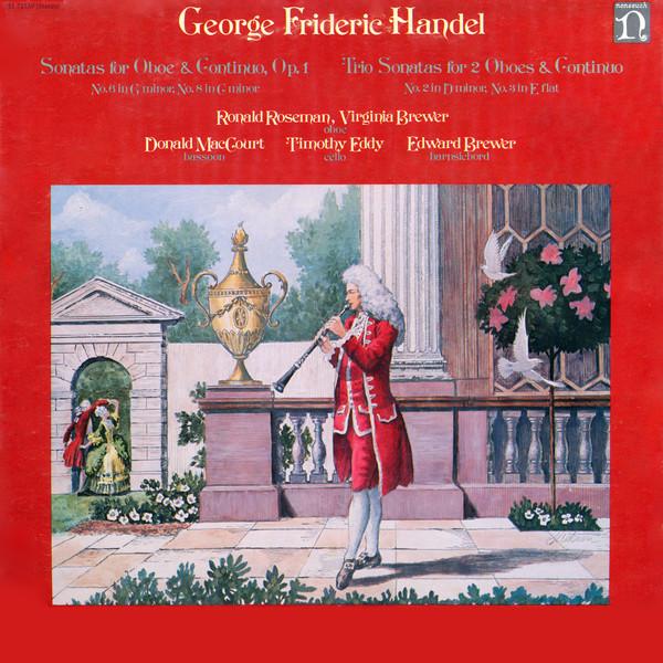 Handel, George Frideric - Sonatas for Oboe & Continuo