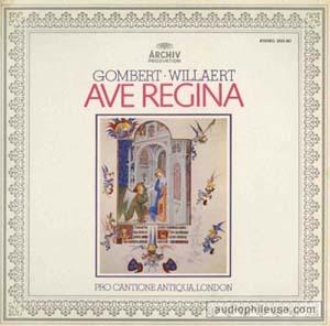Gombaert / Willaert - Ave Regina
