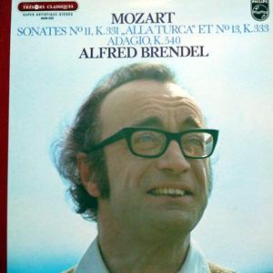 Mozart - Alfred Brendel ? - Sonates N? 11, K.331 ,,Alla Turca