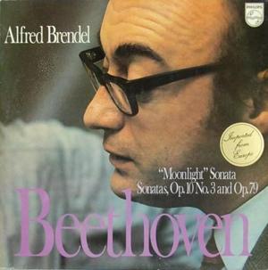 Beethoven - Alfred Brendel - Mondschein-Sonate / Sonaten Op.10,3