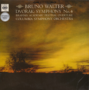 Dvo??k / Brahms - Bruno Walter - Symphony No. 4 / Academic Festival Overture